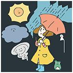 世界気象デーのアイキャッチ