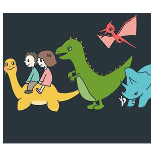 恐竜の日のイラスト