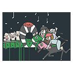 日本ダービーの日のアイキャッチ