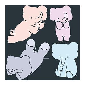 象の日のイラスト