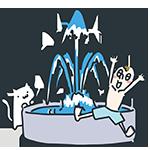 噴水の日のアイキャッチ