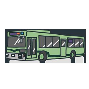 バスの日のイラスト