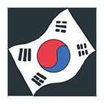 韓国の国旗のアイキャッチ