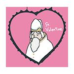 聖バレンタインのイラスト