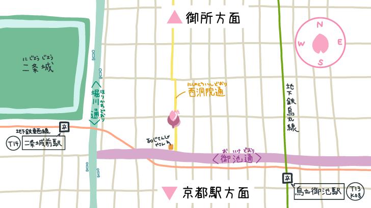 御金神社周辺地図