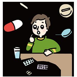薬の日のイラスト