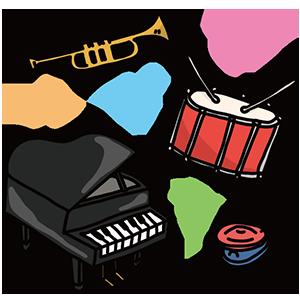 楽器の日のイラスト