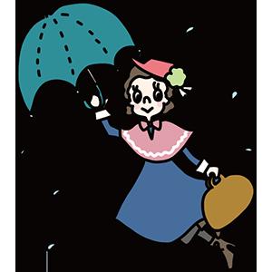 傘の日のイラスト