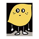 レモンのキャラクターのイラスト