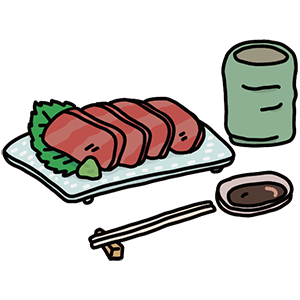 刺身の日のイラスト