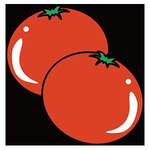 トマトの日のイラスト
