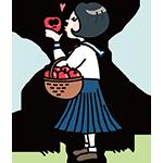 りんごの唄の日のイラスト