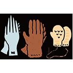 手袋の日のイラスト