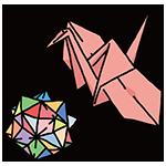 折り紙の日のイラスト
