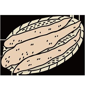 自然薯の日のイラスト