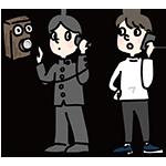 電話創業の日のイラスト