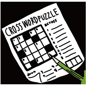 クロスワードの日のイラスト