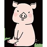 豚の日のイラスト