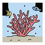 サンゴの日のイラスト