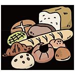 パンの日のイラスト