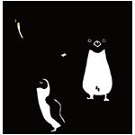 ペンギンの日のイラスト