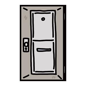 扉のイラスト