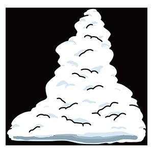 入道雲のイラスト