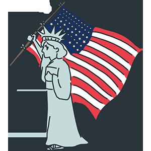 旗の日のイラスト
